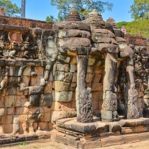 Angkor mystique de Siem Reap: Siem Reap Elephant Terrace