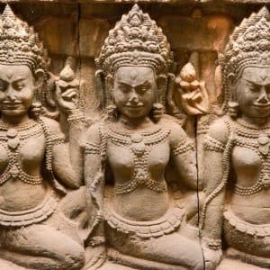 Von Angkor nach Phu Quoc ab Siem Reap: Siem Reap Elephant Terrace Apsaras