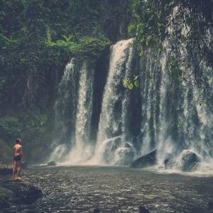 Découverte active de la merveille d'Angkor de Siem Reap: Siem Reap Phnom Koulen waterfall