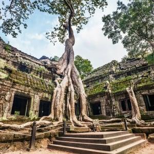 Voyage d'Angkor à Saigon de Siem Reap: Siem Reap Ta Phrom