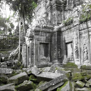Grand voyage en Indochine de Luang Prabang: Siem Reap Ta Phrom