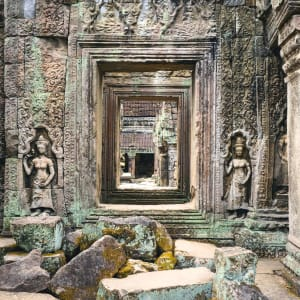 Les hauts lieux du Cambodge de Siem Reap: Siem Reap Ta Phrom