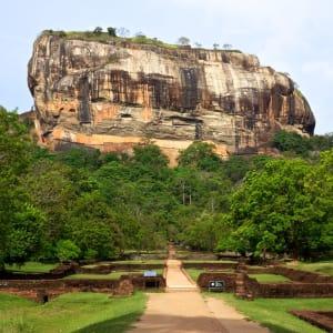 Les hauts lieux du Sri Lanka de Colombo: Sigiriya: Lions Rock