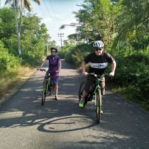 Velotour durch Kerala ab Kovalam: Small rural ways