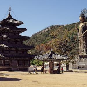 Südkorea - Grosse Mietwagenrundreise ab Seoul: Songnisan: Beopjusa temple