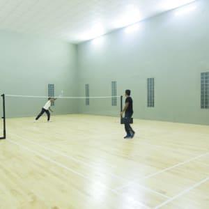 Aliya Resort & Spa in Sigiriya: Badminton
