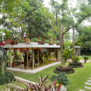 Let's Sea Hua Hin Al Fresco Resort:  Fitness Garden