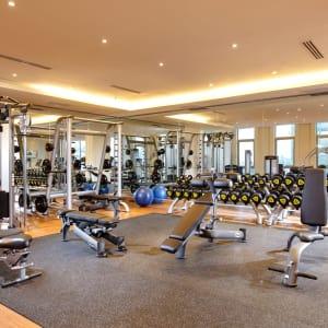 Jasmine Palace in Yangon: Fitness room