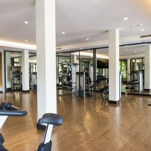 Layana Resort & Spa in Ko Lanta: Fitness Room