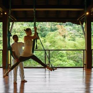 Six Senses Yao Noi in Ko Yao:  Flying Yoga