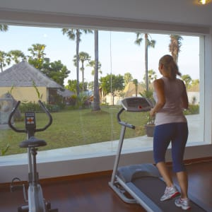 Siddhartha Ocean Front Resort & Spa in Ostbali: Gym