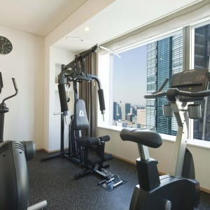 Park Hotel Tokyo: Private-Fitness