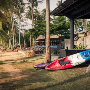 Seavana Beach Resort in Ko Mak: Recreation Center