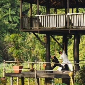 Anantara Golden Triangle Elephant Camp & Resort à Triangle d'Or: Sala Yoga