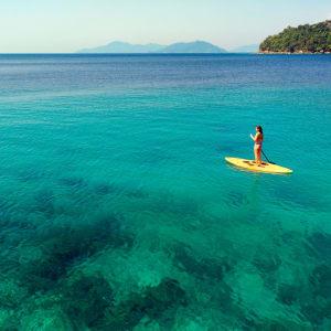 Bungaraya Island Resort in Kota Kinabalu: Stand Up Paddling