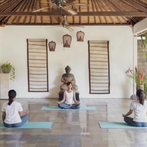 The Pavilions Bali in Südbali: Yoga