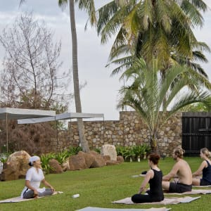 Knai Bang Chatt in Kep:  Yoga