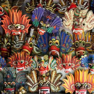 Sri Lanka für Geniesser ab Colombo: Sri Lanka demon masks