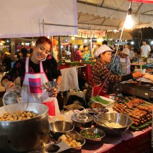 Street Food & Bangkok by Night en Tuk-Tuk: Street Food