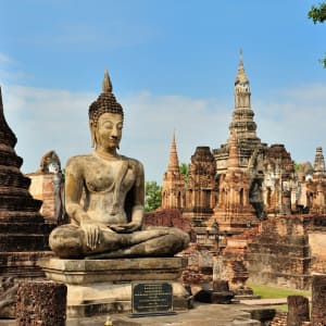 Les hauts lieux de la Thaïlande de Bangkok: Sukhothai: Historical Park