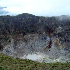 Im Hochland der Minahasa ab Manado: Sulawesi Minahasa Mahawu