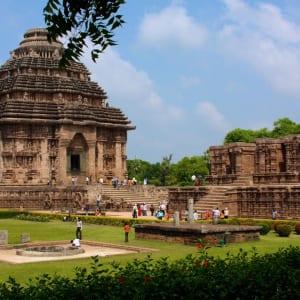 Odisha, terre des temples de Bhubaneswar: Sun Temple Konark