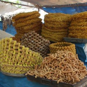 Street Food in Old Delhi: Sweets Market