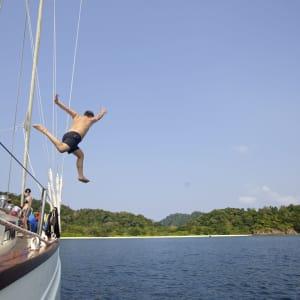 Croisière en voilier dans l'archipel paradisiaque des Mergui de Kawthaung: SY Meta IV at Mergui Archipelago 002