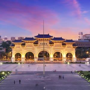 Les hauts lieux de Taïwan de Taipei: Taipei Chiang Kai-Shek Memorial Hall