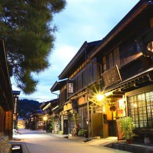 Contrastes du Japon de Tokyo: Takayama: by night