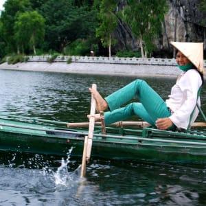 Impressionen Nordvietnams ab Hanoi: Tam  Coc: