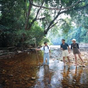 Taman Negara Nationalpark ab Kuala Lumpur: Taman Negara: at river