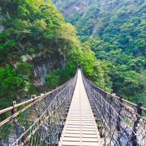 Les hauts lieux de Taïwan de Taipei: Taroko Gorge National Park