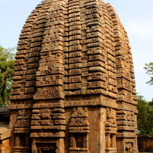 Odisha, terre des temples de Bhubaneswar: Temple Tower Bhubaneswar