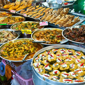 Mietwagenrundreise Goldenes Dreieck ab Chiang Mai: Thailand: delicious food