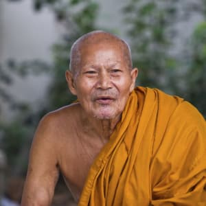 Les hauts lieux de la Thaïlande de Bangkok: Thailand: Monk