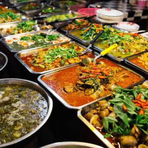 Glanzlichter Thailands ab Bangkok: Thailand street food