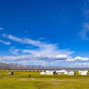 Avec le train du Tibet sur le toit du monde de Pékin: Tibet Train
