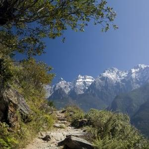 Découverte active du Yunnan de Kunming: Tiger Leaping Gorge hiking trail