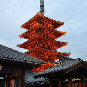 Klassisches Japan ab Tokio: Tokyo: Asakusa