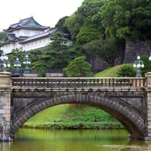 Circuit en groupe «Geisha» de Tokyo: Tokyo: Imperial Palace with Nijubashi Bridge