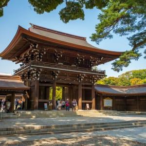 Japan auf neuen Wegen ab Osaka: Tokyo Meiji Shrine and Yoyogi Park