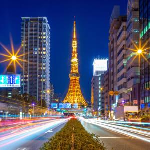 Le Japon sur de nouveaux chemins de Osaka: Tokyo night view