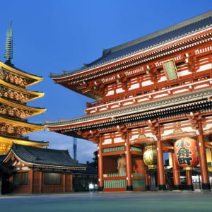 Circuit en groupe «Découverte du Japon et de la Corée du Sud» de Séoul: Tokyo Senso-ji (Kannon) Temple Asakusa