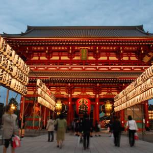 Circuit en groupe «Fuji» de Kyoto: Tokyo: Senso-ji (Kannon) Temple Asakusa