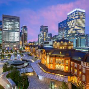 Les hauts lieux du Japon avec prolongation de Tokyo: Tokyo Station at night