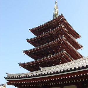 Au pays du soleil levant de Tokyo: Tokyo: temple detail