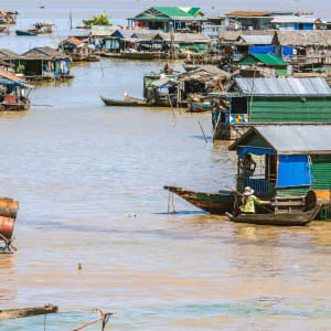 Les hauts lieux du Cambodge de Siem Reap: Tonle Sap