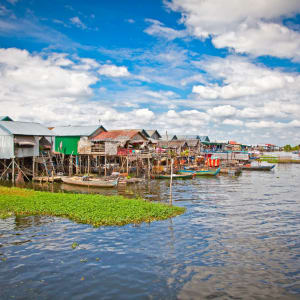 Découverte active de la merveille d'Angkor de Siem Reap: Tonle Sap Floating Village