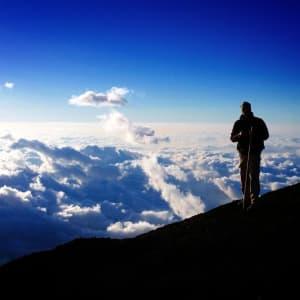 Mt. Fuji Trekking (Nebensaison) ab Tokio: Trekking Mt. Fuji